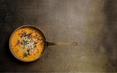 Stark Suppe mit Kokosmilch